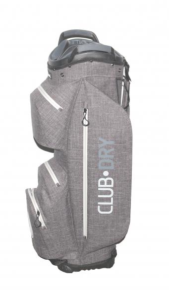 Keel ReOrg Cartbag CLUBDRY mit Klick-Organizer Ultraleicht und Wasserdicht Grau/Grau