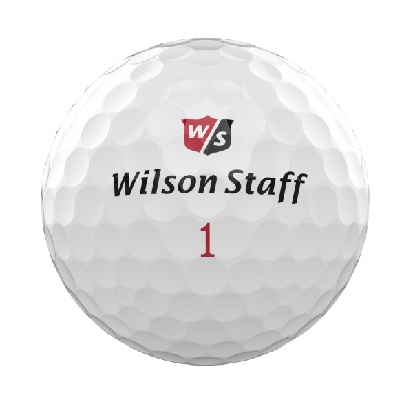 Wilson Staff DX2 Soft Golfbälle weiss