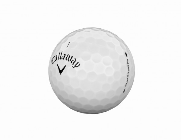 Callaway Supersoft 2019 Weiss Golfbälle
