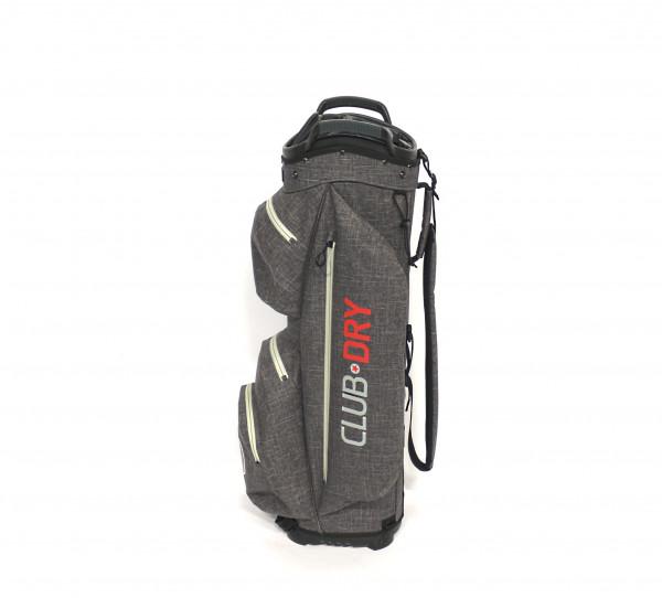Keel ReOrg Cartbag CLUBDRY mit Klick-Organizer Ultraleicht und Wasserdicht Grau/Rot