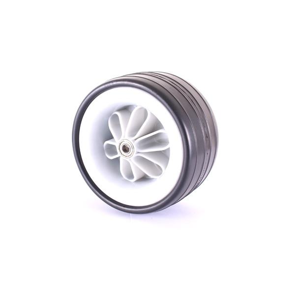 Caddyone Vorderrad silber für Modell 200/300/350/400/450