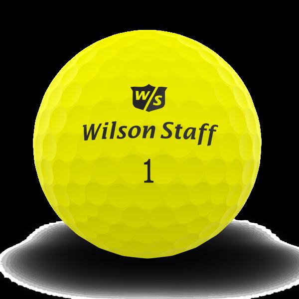 Wilson Staff DX2 Soft Golfbälle gelb