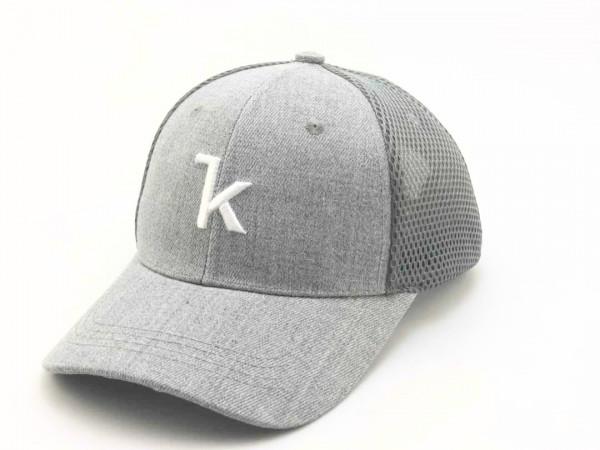 Keel Snapback Cap grau/grau Snap Mesh