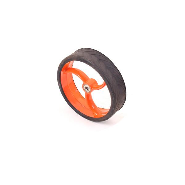 Caddyone Vorderrad für Modell 110 / S80 / S85 orange