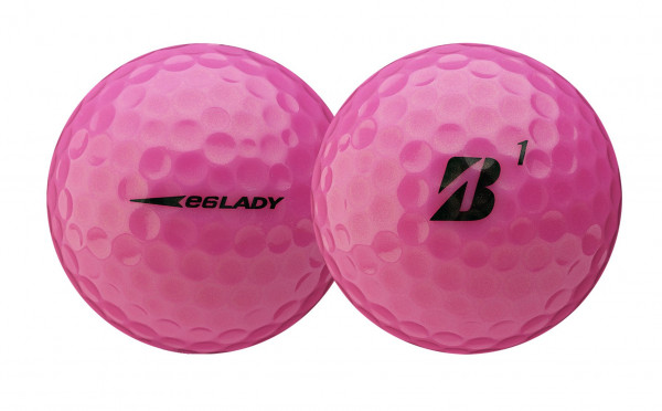Bridgestone e6 Golfbälle pink Lady