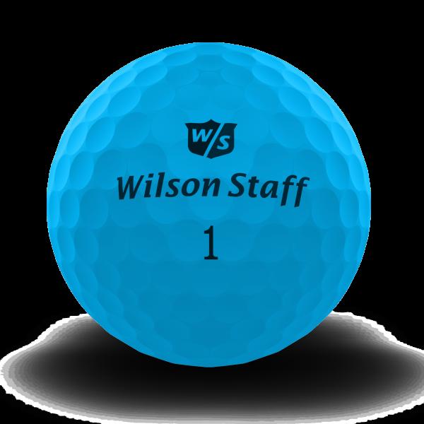 Wilson Staff DX2 Soft Golfbälle blau