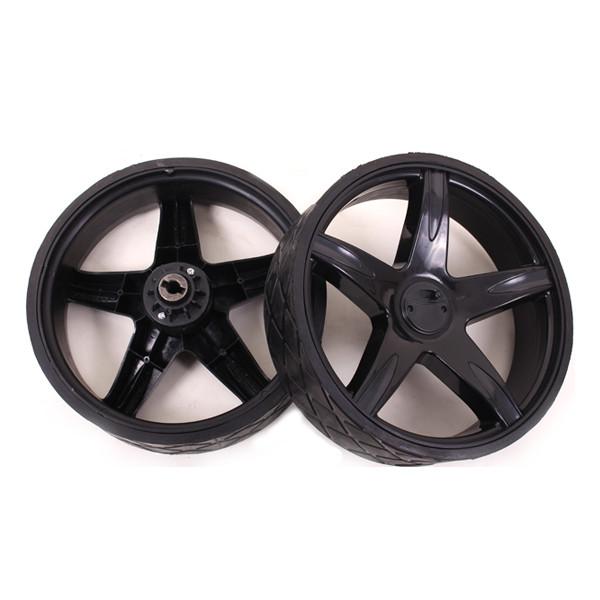 Caddyone Rad für Modell 400 schwarz/rechts