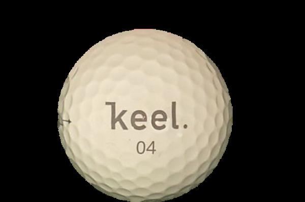 Keel Quadball Premium 4-Layer Golfball