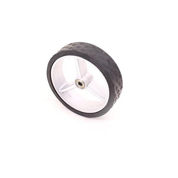 Caddyone Vorderrad für Modell 100/500/600/650/700/750 silber
