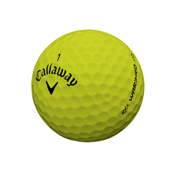 Callaway 2019 Warbird Golfbälle gelb