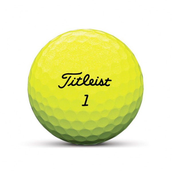 Titleist Tour Soft Golfball gelb