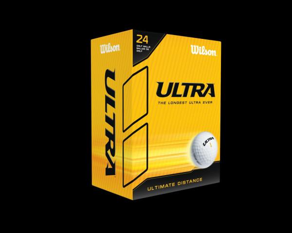 Wilson Ultra Distance Golfbälle 24er Box