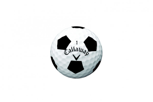 Callaway Chrome Soft Truvis Black Golfbälle