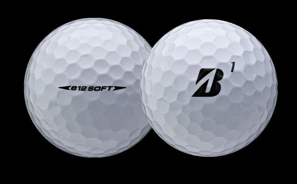 Bridgestone e12 Golfbälle weiss