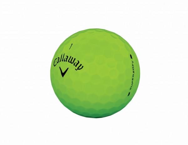 Callaway Supersoft 2019 Grün Golfbälle