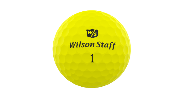 Wilson DUO Professional Golfbälle gelb