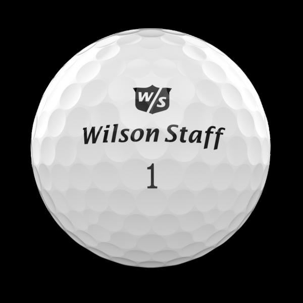 Wilson DUO Professional Golfbälle weiss