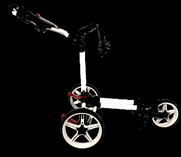 Push Trolley Keel Kolibri mit Mini-Packmaß Rot/Weiß/Schwarz