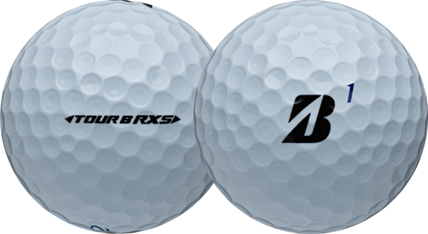 Bridgestone Tour B RXS Golfbälle weiss