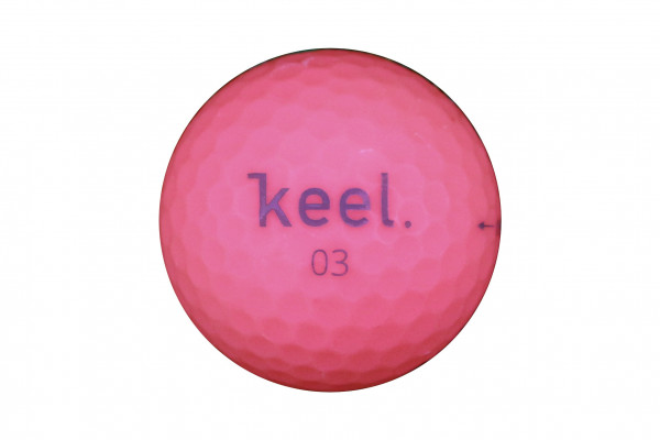 Keel Neverlost Premium 3-Layer Golfball Rot