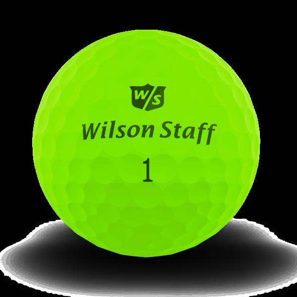 Wilson Staff DX2 Soft Golfbälle grün