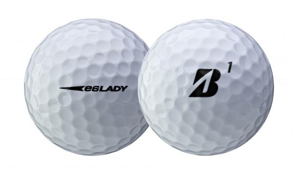 Bridgestone e6 Golfbälle weiss Lady