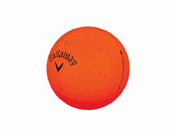 Callaway Supersoft 2019 Orange Golfbälle
