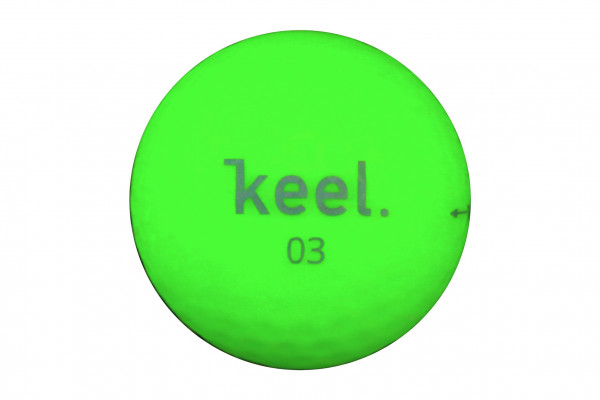Keel Neverlost Premium 3-Layer Golfball Grün