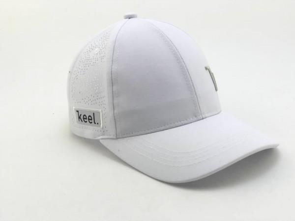 Keel Snapback Cap weiss/grau Performance Unisex